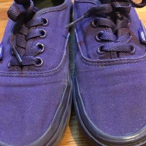 Authentic Dark purple VANS